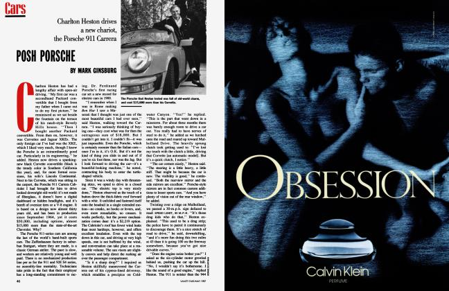 Article Preview: POSH PORSCHE, May 1987 1987   Vanity Fair