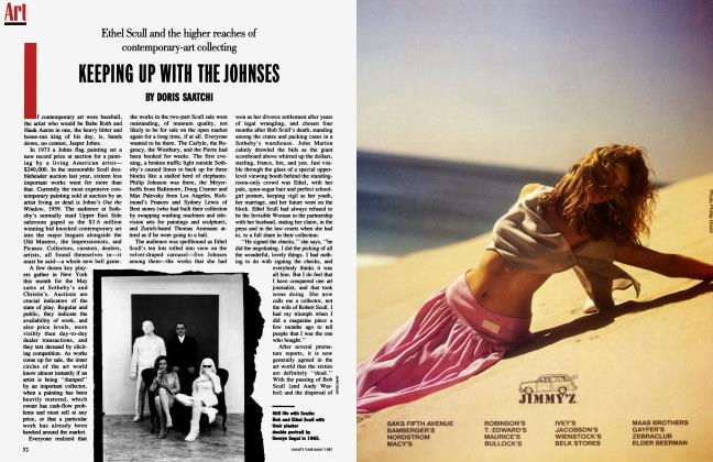 Article Preview: KEEPING UP WITH THE JOHNSES, May 1987 | Vanity Fair