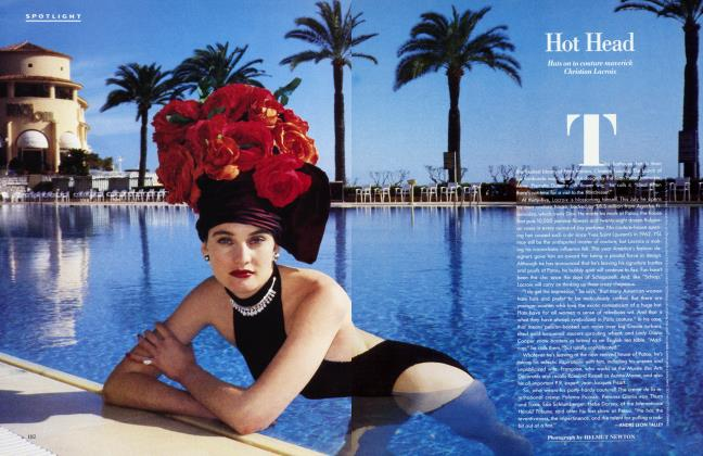 Article Preview: Hot Head, May 1987 1987 | Vanity Fair