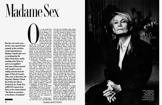Article Preview: Madame Sex, May 1987 | Vanity Fair