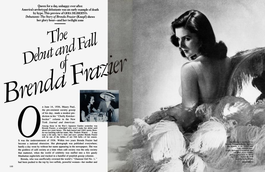 The Debut and Fall Brenda Frazier