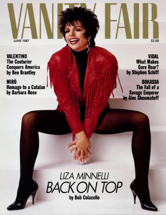 Cover for the June 1987 issue