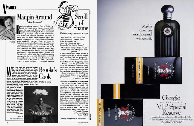 Article Preview: Scroll of Shame, June 1987 1987 | Vanity Fair