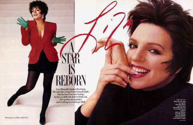 Article Preview: A STAR IS REBORN, June 1987 1987 | Vanity Fair