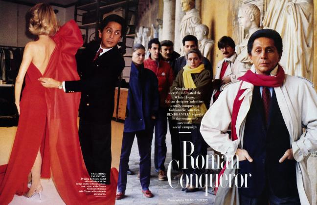 Article Preview: Roman Conqueror, June 1987 | Vanity Fair