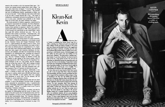 Article Preview: Klean-Kut Kevin, June 1987 1987   Vanity Fair