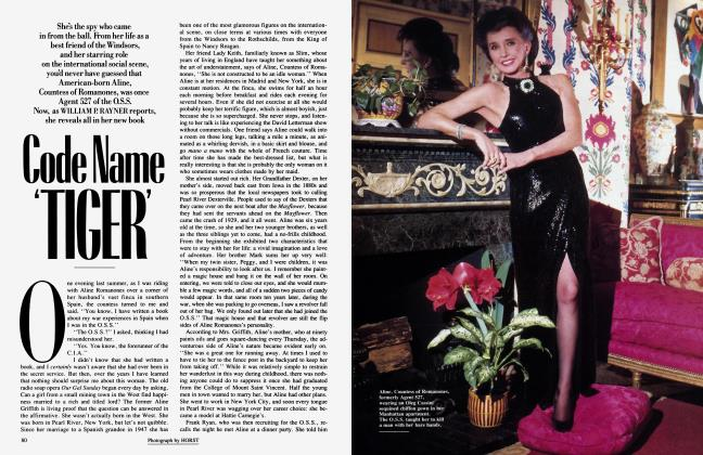 Article Preview: Code Name 'TIGER', June 1987 | Vanity Fair