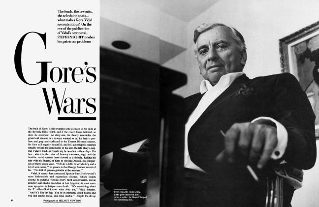 Article Preview: Gore's Wars, June 1987 | Vanity Fair