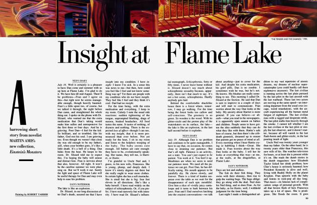 Article Preview: Insight at Flame Lake, June 1987 | Vanity Fair