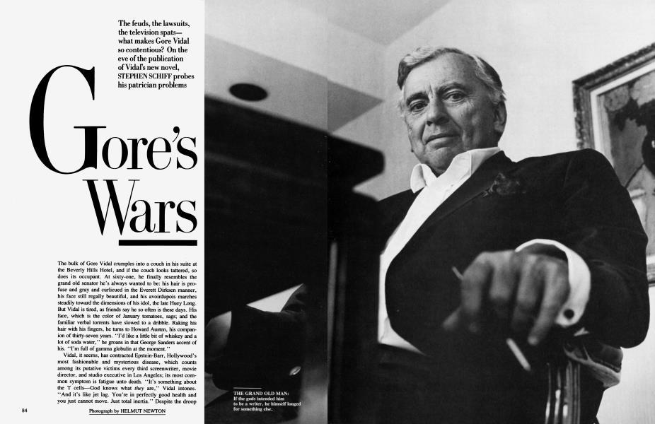 Gore's Wars
