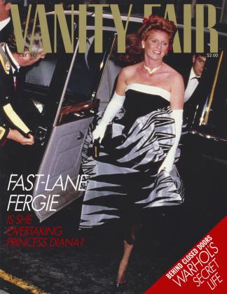Cover for the July 1987 issue