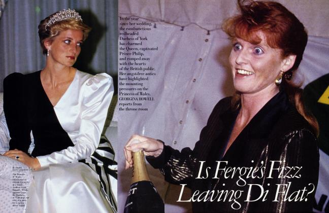 Article Preview: Is Fergie's Fizz Leaving Di Flat?, July 1987 1987 | Vanity Fair