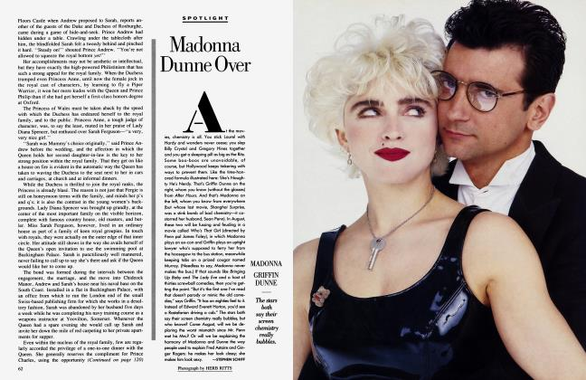 Article Preview: Madonna Dunne Over, July 1987 1987 | Vanity Fair