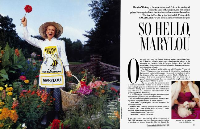 Article Preview: SO HELLO MARYLOU, July 1987 | Vanity Fair