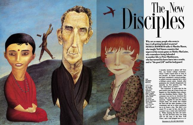 Article Preview: The New Disciples, August 1987 1987   Vanity Fair