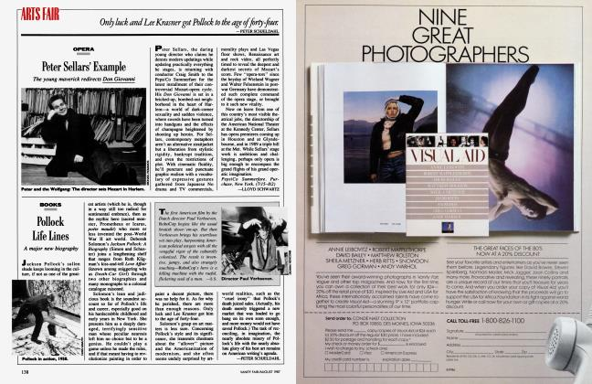 Article Preview: Pollock Life Lines, August 1987 1987 | Vanity Fair
