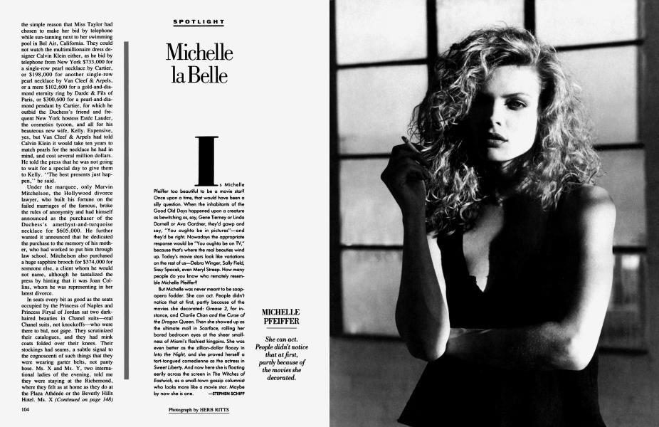 Michelle la Belle