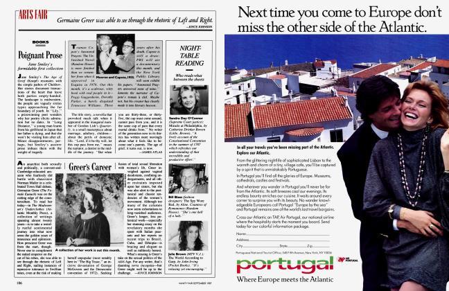 Article Preview: Greer's Career, September 1987 1987 | Vanity Fair