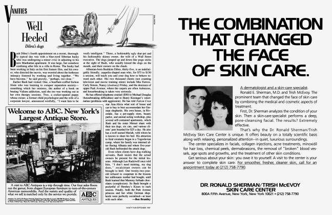 Article Preview: Well Heeled, September 1987 1987 | Vanity Fair