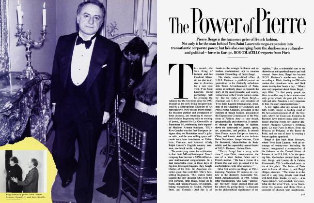 Article Preview: The Power of Pierre, September 1987 1987 | Vanity Fair