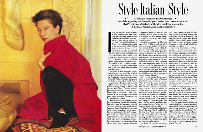 Article Preview: Style Italian-Style, September 1987 1987 | Vanity Fair