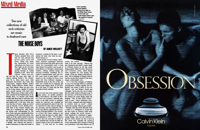 Article Preview: THE NOISE BOYS, October 1987   Vanity Fair