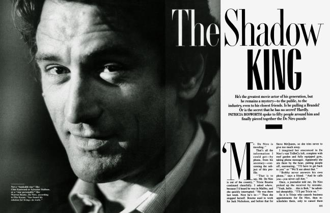 Article Preview: The Shadow KING, October 1987 1987 | Vanity Fair