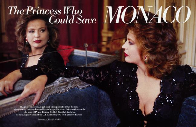 Article Preview: The Princess Who Could Save MONACO, October 1987 1987 | Vanity Fair