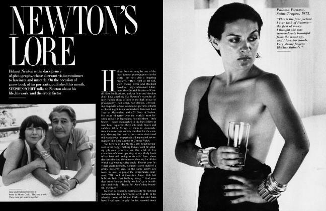 Article Preview: NEWTON'S LORE, October 1987   Vanity Fair