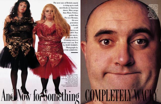 Article Preview: And Now for Something COMPLETELY WACKY, October 1987 1987 | Vanity Fair