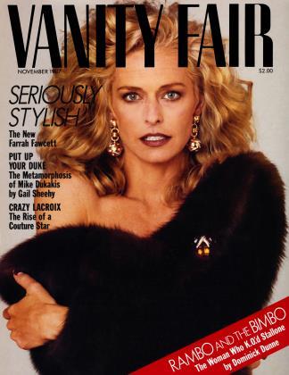 November 1987 | Vanity Fair