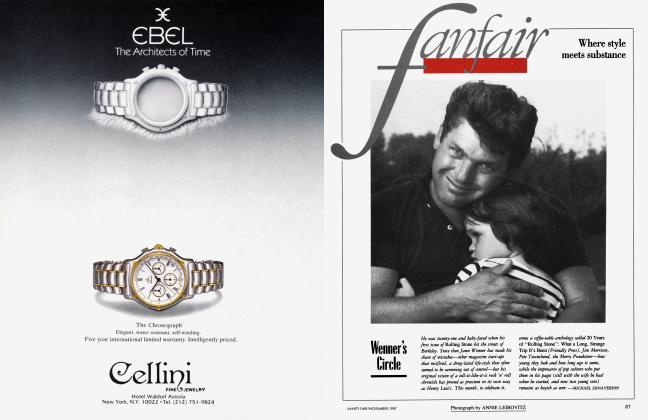 Article Preview: Winner's Circle, November 1987 1987 | Vanity Fair