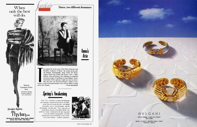 Article Preview: Spring's Awakening, November 1987 1987 | Vanity Fair