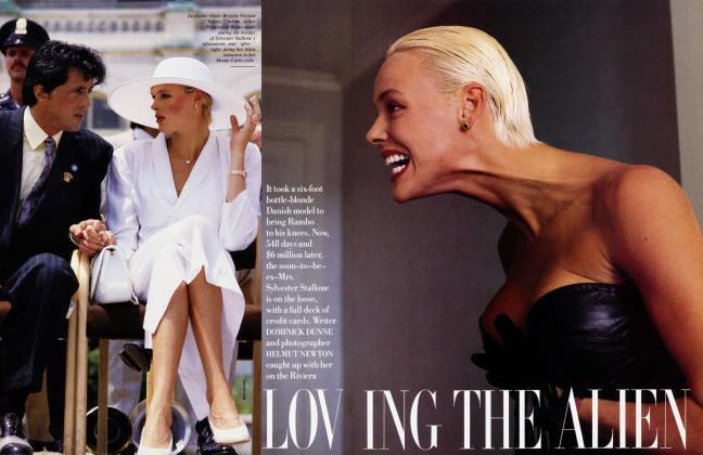 Article Preview: LOVING THE ALIEN, November 1987 1987   Vanity Fair