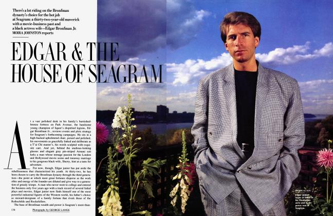 Article Preview: EDGAR & THE HOUSE OF SEAGRAM, November 1987 | Vanity Fair