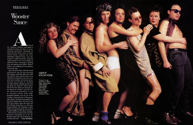 Article Preview: Wooster Sauce, November 1987 1987 | Vanity Fair