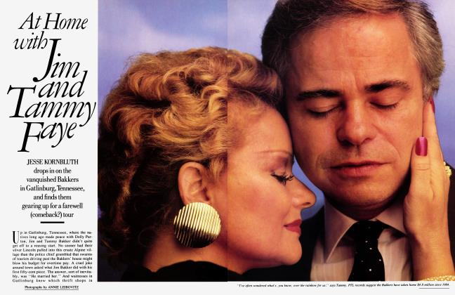 Article Preview: At Home with Jim and Tammy Faye, November 1987 | Vanity Fair