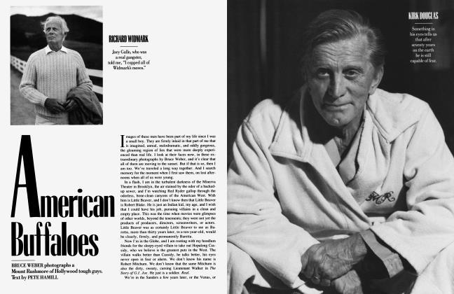 Article Preview: American Buffaloes, November 1987 1987 | Vanity Fair