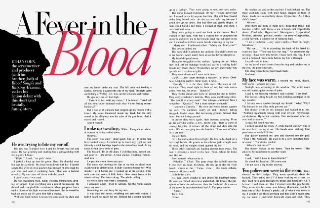 Article Preview: A Fever in the Blood, November 1987 | Vanity Fair