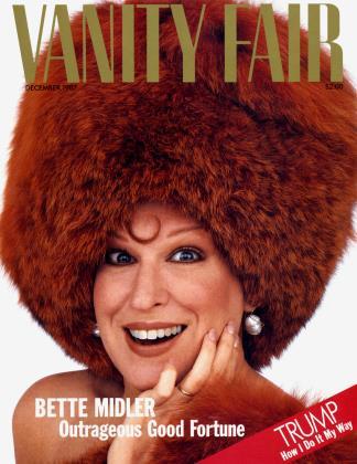 December 1987 | Vanity Fair