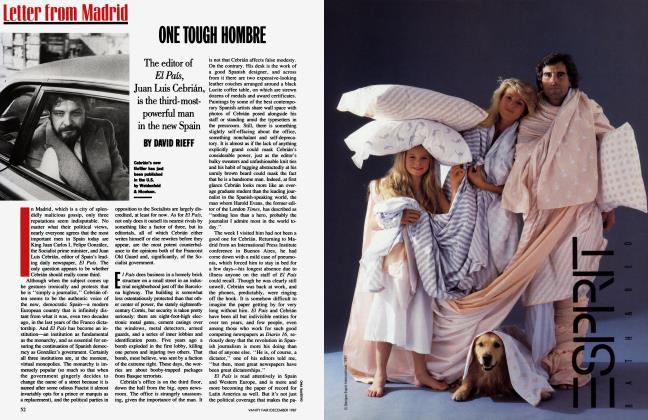 Article Preview: ONE TOUGH HOMBRE, December 1987 | Vanity Fair