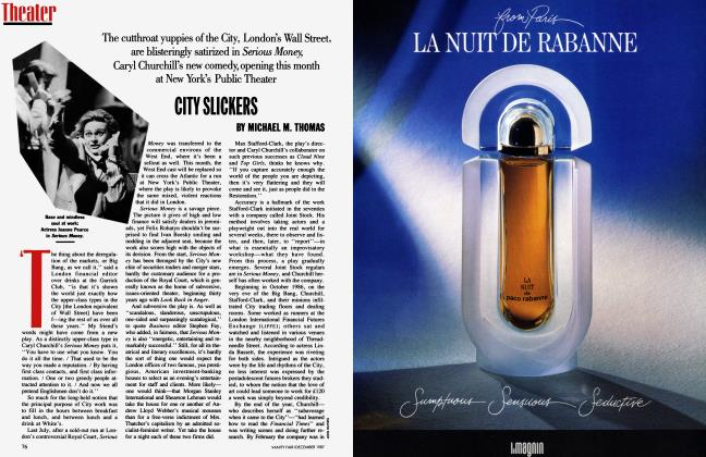 Article Preview: CITY SLICKERS, December 1987 1987 | Vanity Fair