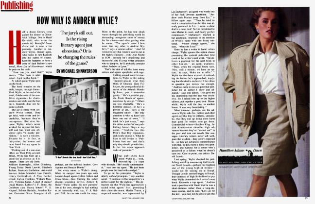 Article Preview: HOW WILY IS ANDREW WYLIE?, January 1988 1988 | Vanity Fair