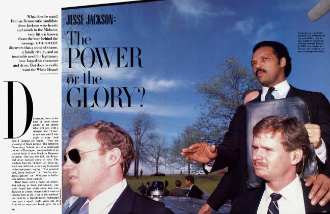 Article Preview: JESSE JACKSON: The POWER or the GLORY?, January 1988 1988 | Vanity Fair