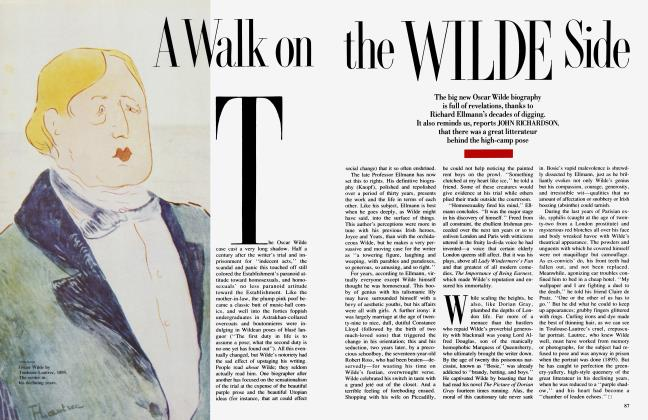 Article Preview: A Walk on the WILDE Side, January 1988 1988 | Vanity Fair