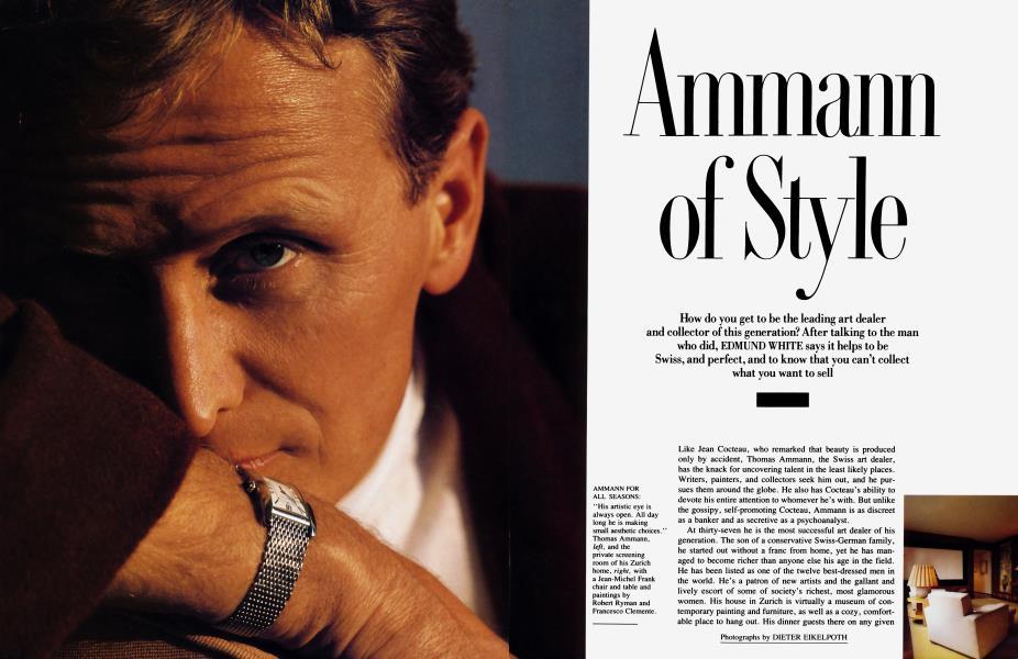 Ammann of Style