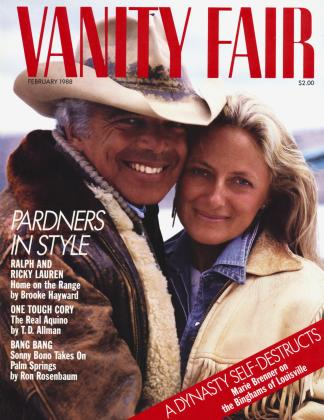 Cover for the February 1988 issue