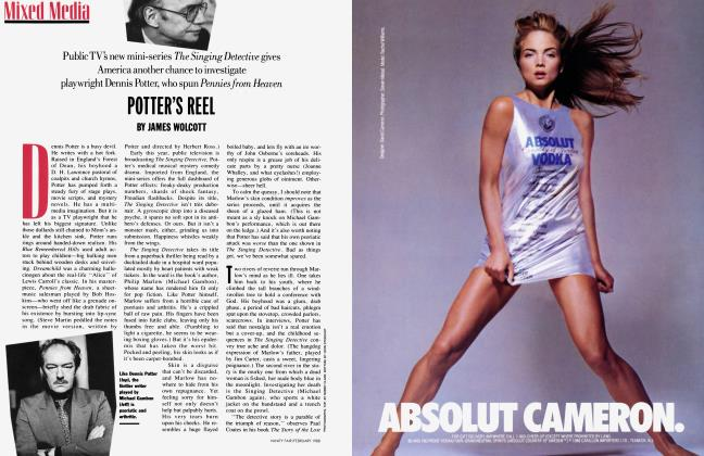 Article Preview: POTTER'S REEL, February 1988   Vanity Fair