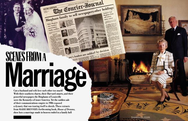 Article Preview: SCENES FROM A Marriage, February 1988 | Vanity Fair