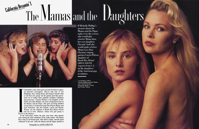 Article Preview: The Mamas and the Daughters, February 1988 1988 | Vanity Fair